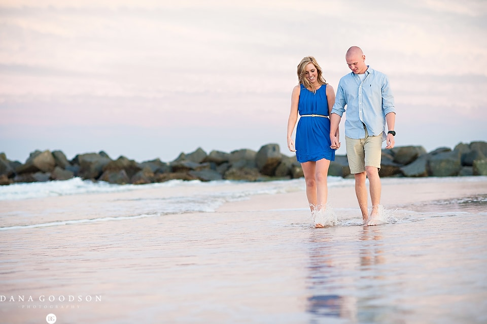 Vilano Beach Engagement Session 08