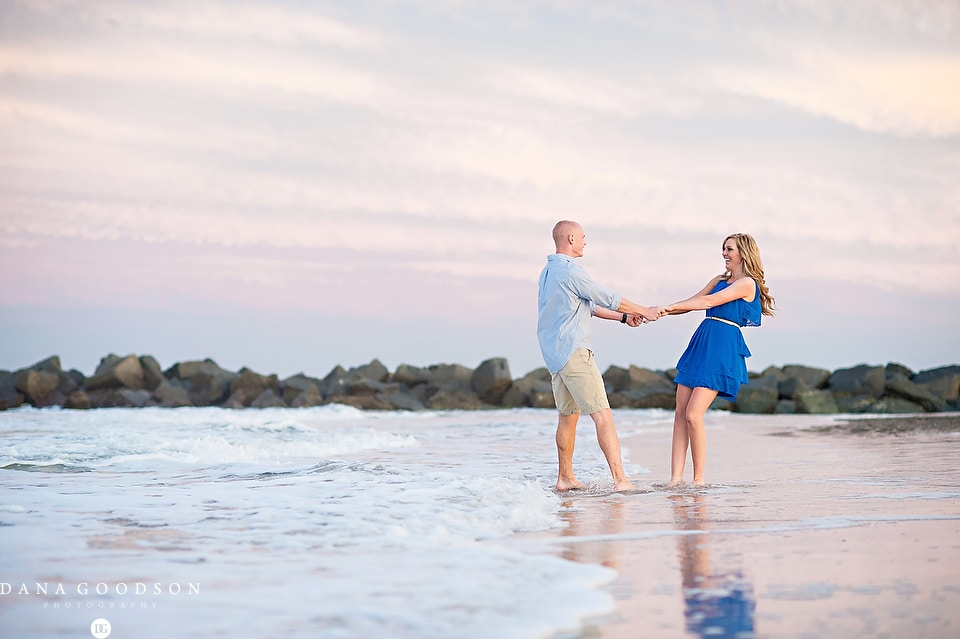 Vilano Beach Engagement Session 09