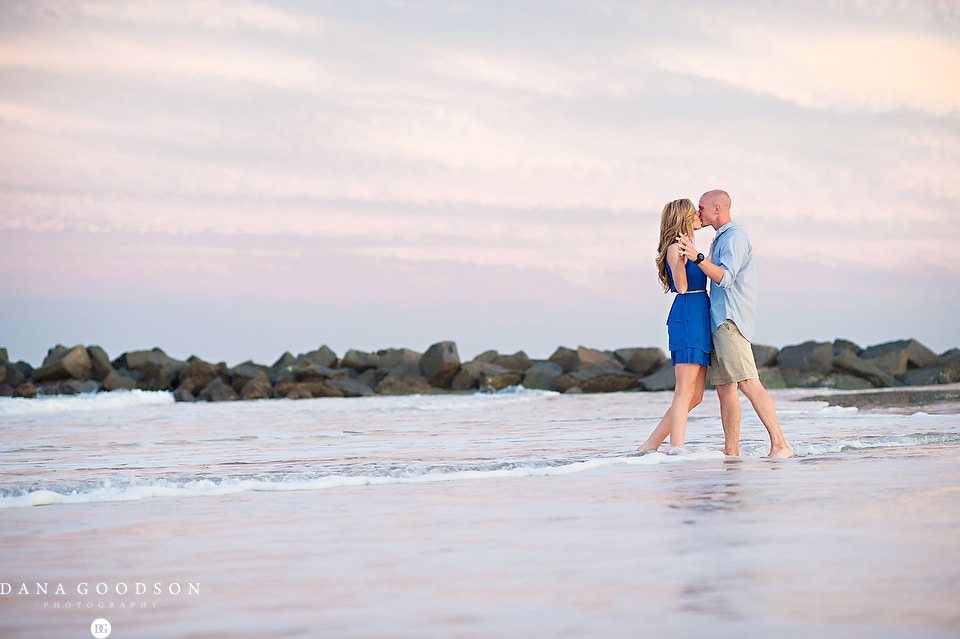 Vilano Beach Engagement Session 10