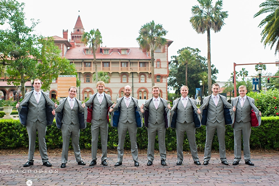 St Augustine Wedding | White Room | Megan & Alex 1037