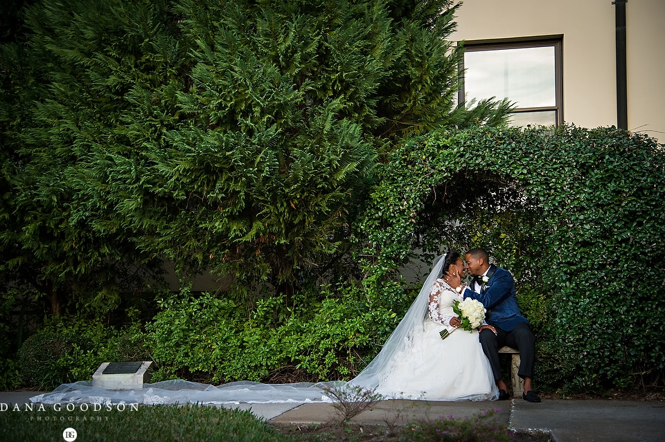 Riverside Baptist Wedding & Library | Courtney & Jerry 1041