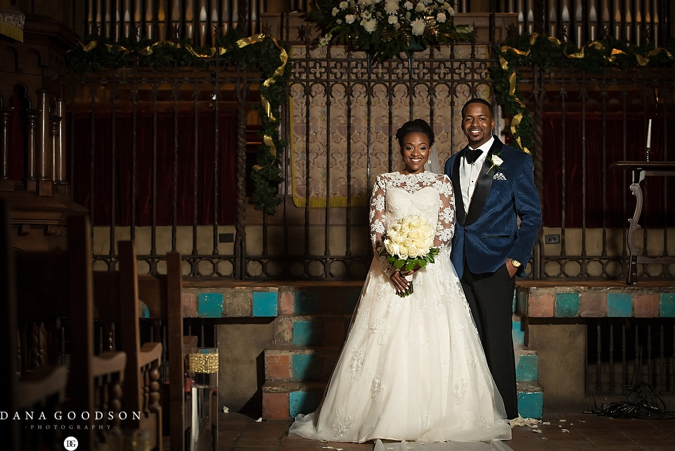 Riverside Baptist Wedding & Library | Courtney & Jerry 1045