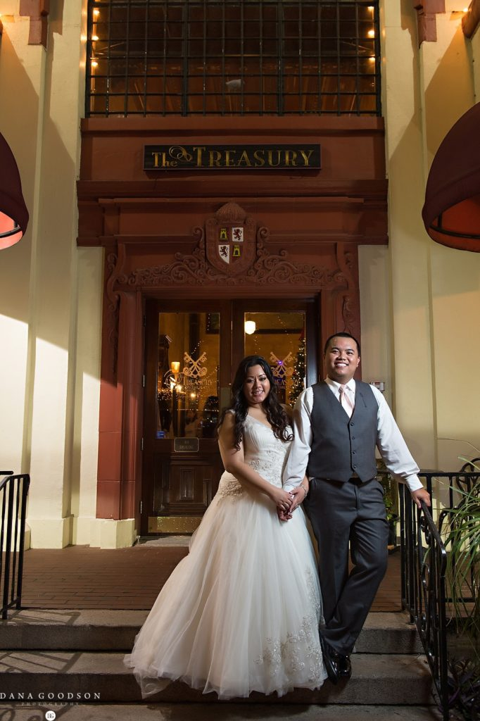 St Augustine Wedding | Treasury on the Plaza | Dana Goodson Photography | 065