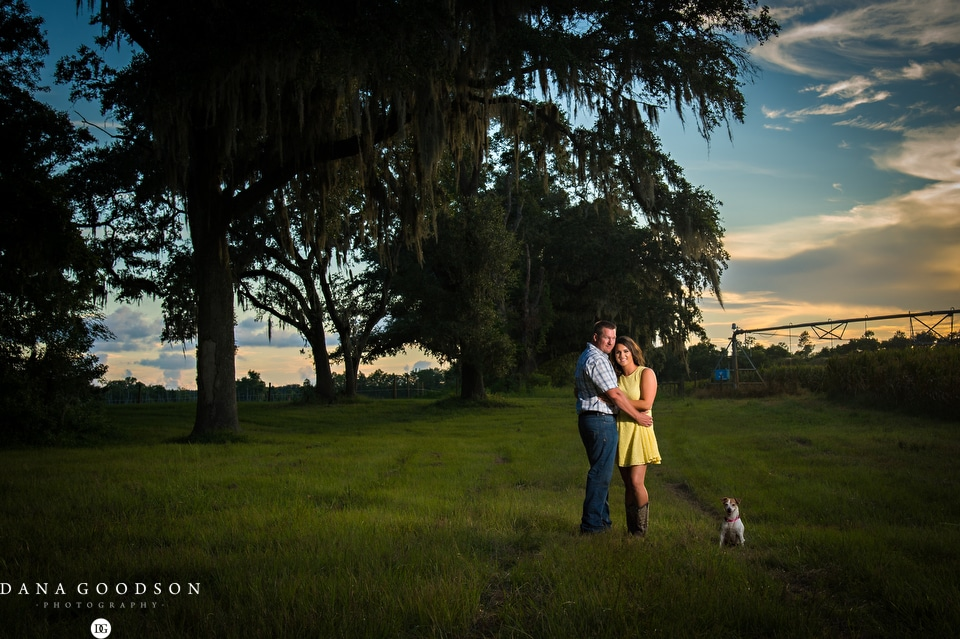 Chiefland Engagement Session | Christen & Wes11